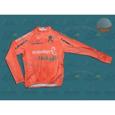 Euskaltel Euskadi Spain Thermal Cycling Long Sleeve Jersey