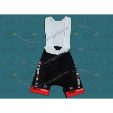 Castelli Red Cycling Bib Shorts