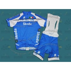 Skoda Italy Cycling Jersey And Bib Shorts Set