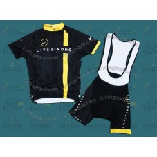 LiveStrong 2011 Cycling Jersey And Bib Shorts Set