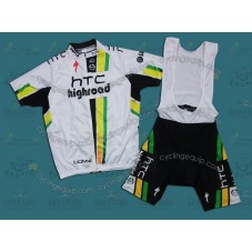 HTC Columbia 2011 Cycling Jersey And Bib Shorts Set