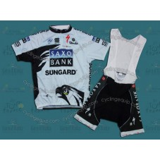 Saxo Bank 2011 Cycling Jersey And Bib Shorts Set