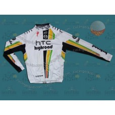HTC Columbia 2011 Thermal Cycling Long Sleeve Jersey