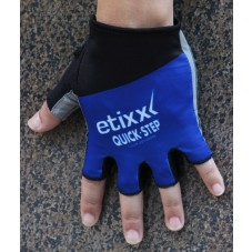2016 Etixx-Quick Step Blue Cycling Gloves