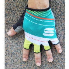 2016 Sportful Stripe Green Cycling Gloves