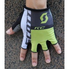 2016 Scott RC Black-Yellow Cycling Gloves