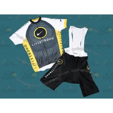LiveStrong 2010 Cycling Jersey And Bib Shorts Set