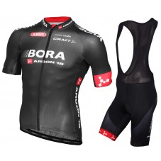 2015 Bora Argon 18 Team Cycling Jersey And Bib Shorts Set