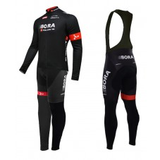2015 Bora Argon 18 Team Cycling Long Sleeve Jersey And Bib Pants Set