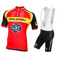 2015 Team Raleigh Cycling Jersey And Bib Shorts Set
