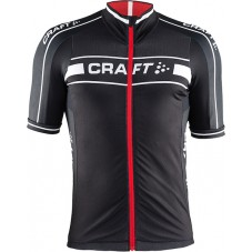 2015 Craft Bike Grand Tour Black-Red Cycling Jersey