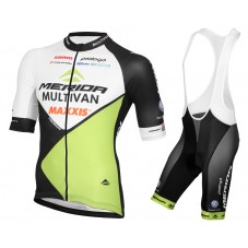 2016 Multivan Merida Biking Team Cycling Jersey And Bib Shorts Set