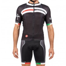 2016 Wilier Free Aero Race Cycling Jersey And Bib Shorts Set
