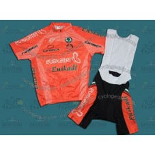 2012 Team Euskaltel Euskadi Cycling Jersey And Bib Shorts Set