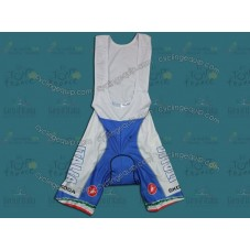 2011 Skoda Italy Champion Blue Cycling Bib Shorts