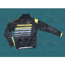2013 LiveStrong Black Thermal Long Cycling Long Sleeve Jersey