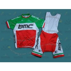2014 BMC Italy Champion  Cycling Jersey And Bib Shorts Set