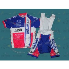 2012 Lampre vertical Style Cycling Jersey And Bib Shorts Set