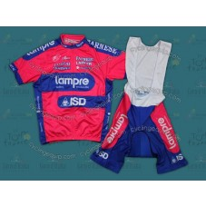 2012 Lampre ISD Cycling Jersey And Bib Shorts Set