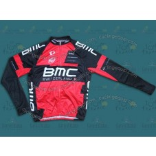 2014 Team BMC Cycling Long Sleeve Jersey