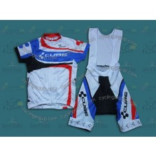 2014 Cube Women  Cycling Jersey And Bib Shorts Set