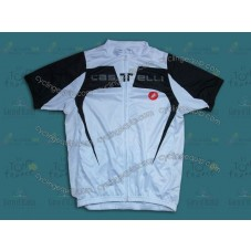 2014 Castelli Black And White   Cycling Jersey