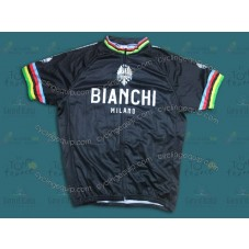 Bianchi Champion Black   Cycling Jersey
