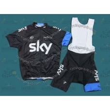 2013 Sky Professional Cycling Team Jersey and Bib Shorts Set