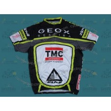 2012 Team TMC GEOX Black Cycling Jersey