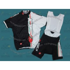 2011 Sidi Castelli Cycling Jersey And Bib Shorts Set