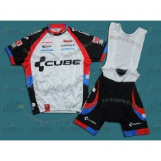 Cube 2011 Cycling Jersey And Bib Shorts Set