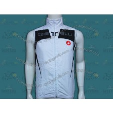 2014 Castelli Black And White Cycling Wind Vest
