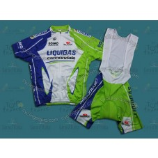 2012 Liquigas Cycling Jersey And Bib Shorts Set
