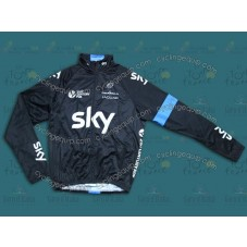 2014 SKY  Thermal Cycling Long Sleeve Jersey