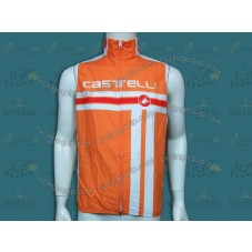 2014 Castelli Free Style Orange Cycling Wind Vest