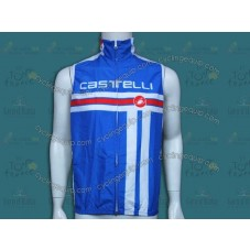 2014 Castelli Free Style Light Blue Cycling Wind Vest