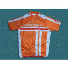 2014 Castelli Free Style Orange   Cycling Jersey
