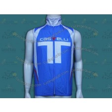 2014 Castelli Light Blue T Style Cycling Wind Vest