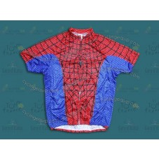 2014 Spider-Man Blue   Cycling Jersey
