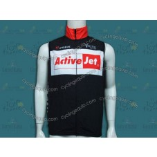 2014 Team Active Jet Black Cycling Wind Vest