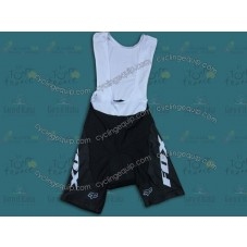 2014 Fox Black and Whtie  Cycling Bib Shorts