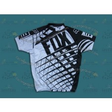 2014 Fox Black and Whtie   Cycling Jersey