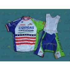 2013 Liquigas US Champion    Cycling Jersey And Bib Shorts Set