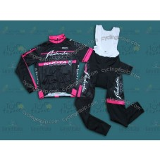 2014 Radenska - Kuota  Thermal Long Cycling Long Sleeve Jersey And Bib Pants Set