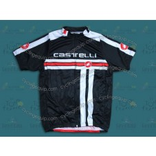 2014 Castelli Free Style Black and Red   Cycling Jersey