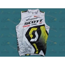 Scott 2011 White/Yellow Cycling Vest