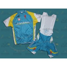 Astana 2011 Cycling Jersey And Bib Shorts Set