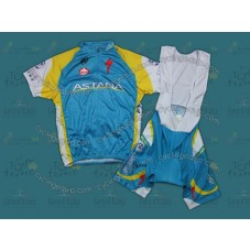 2012 Team Astana Cycling Jersey And Bib Shorts Set