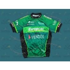 2012 Europcar Vendee Green Cycling Jersey
