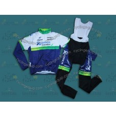 2014 Orica  Thermal Long Cycling Long Sleeve Jersey And Bib Pants Set